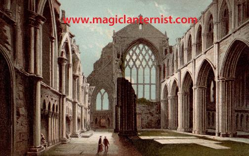 LR 14766 holyrood palace chapel edinburgh