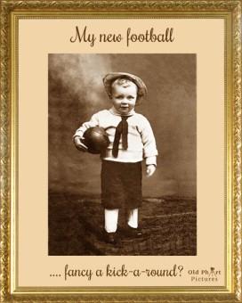 LR 11 My new football