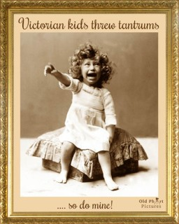 LR 34 Victorian kids threw tantrums