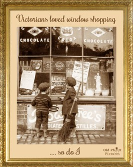 LR 8 Victorians loved window shopping