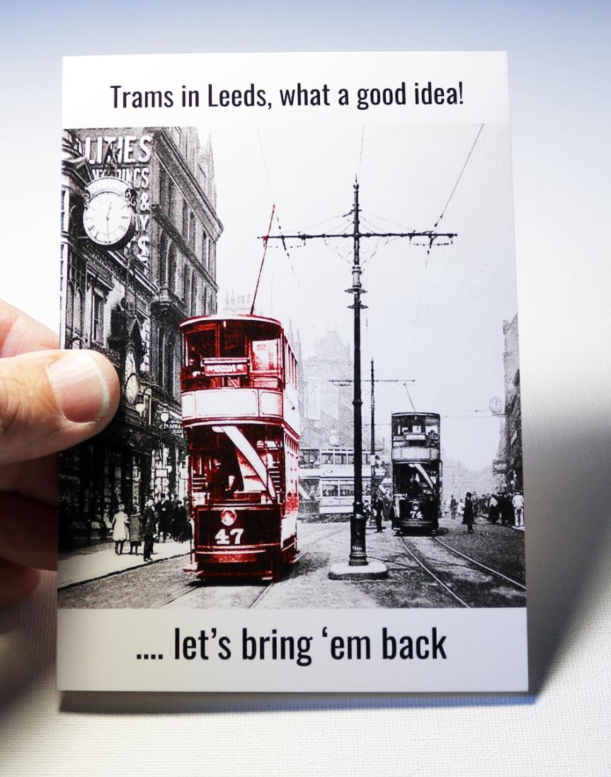 Trams in Leeds